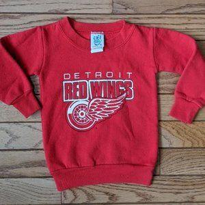 Vintage Detroit Red Wings Sweat Shirt